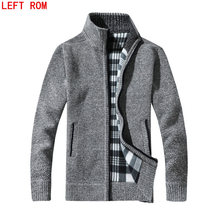 New arrival Autumn Men's Warm Sweaters Warm Winter Pullover Mens Cardigan Sweaters Casual Knitwear Fleece Velvet Clothing