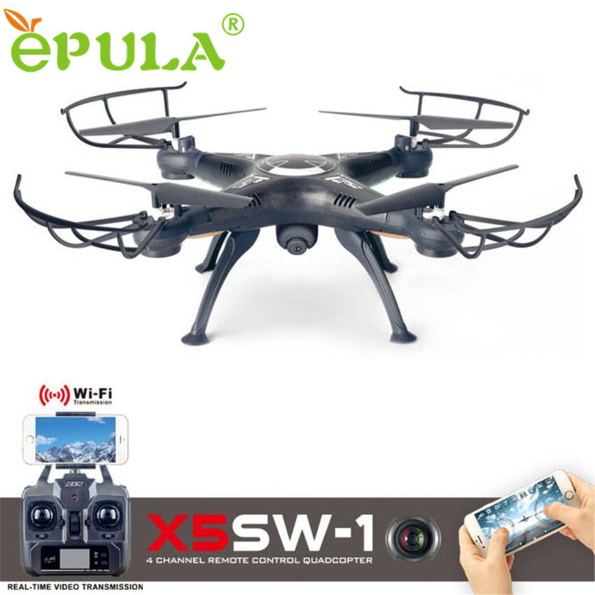 X5SW-1 Wifi FPV RTF 2.4G 4CH RC Black quadcopter Camera Drone with HD Camera UAV4