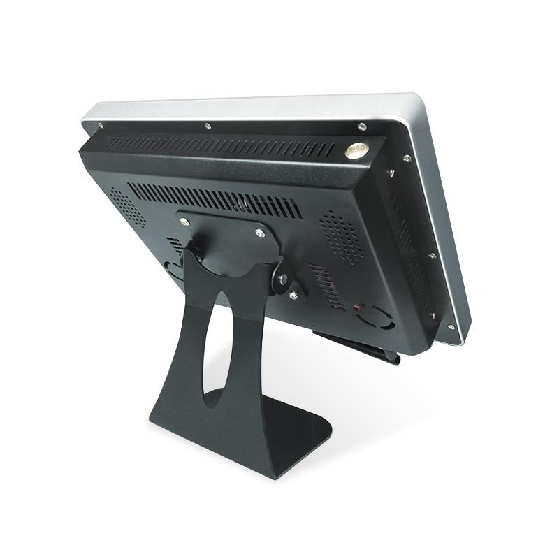 Lecteur multimédia de signage numérique de bâti de mur de kiosque d'information d'affichage de la publicité HD lcd d'intérieur de 12 pouces - 6