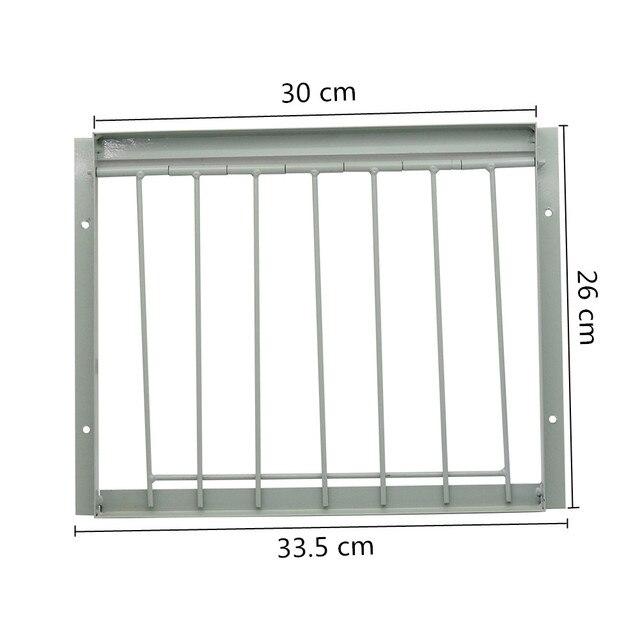 30/40*26cm Pigeon Door Metal Bars Single Entrance Trap 2