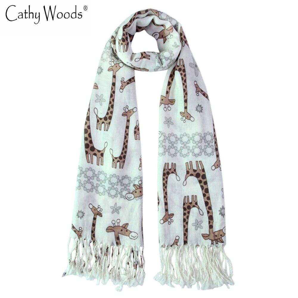 ▻Año nuevo marca bufanda de las mujeres del estilo del invierno ...