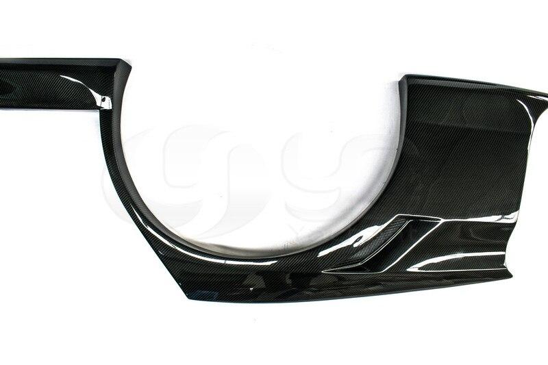 2006-2007 Mitsubishi Lancer Evolution 9 Voltex Cyber Version Style +30mm Rear Fender Panels CF (9)