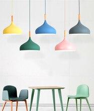 Nordic LED Loft Pendant Light Lighting Kitchen Fixtures Modern LED Pendant Lamps Bedroom Living Room Hanging Lamps Luminaire