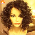 NEW Loose Curly Brazilian Virgin Hair Lace Front Human Hair Wigs Unprocessed Human Hair Full Lace Wigs For Black Women