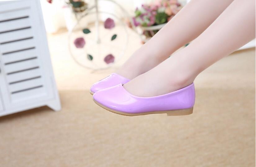 girl leather shoe-30