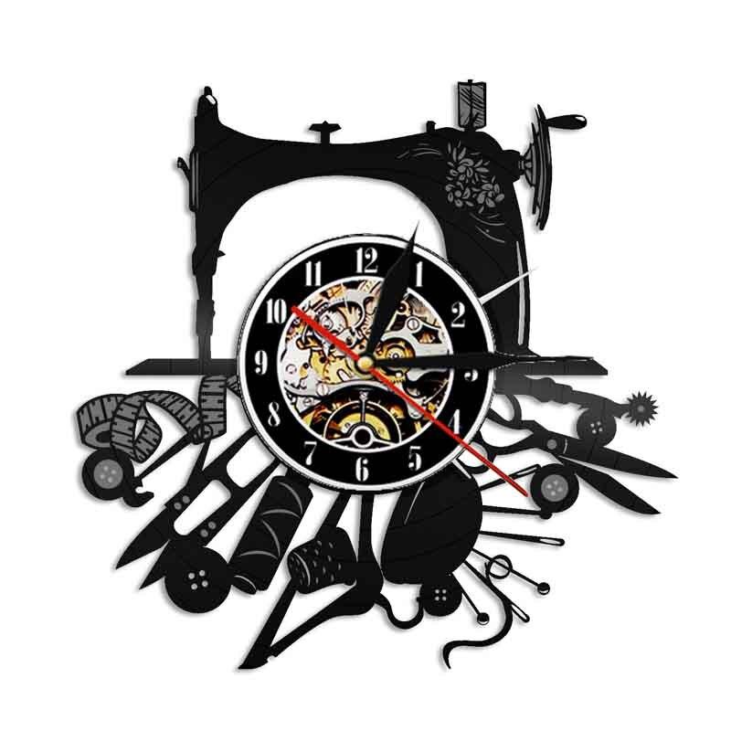Reloj de pared de vinilo con diseño moderno, decoración para sala de estar, artesanía, temática de costura, relojes, reloj de pared, decoración del hogar, 12 pulgadas Reloj de pared silencioso con posición de amor sexual juego de despedida de soltera Kama Sutra 3D DIY reloj para habitación de adultos decoración de acrílico reloj grande