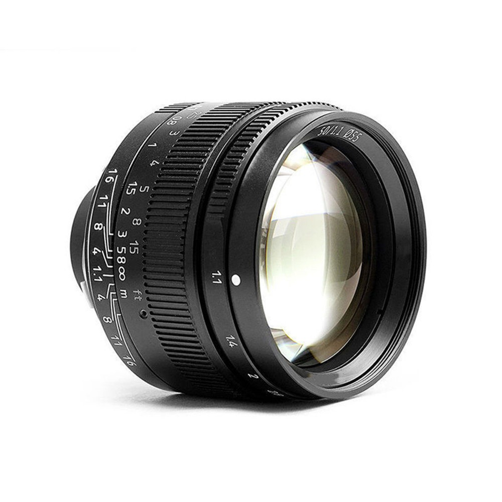 50mm F1.1 M Mount Fixed Lens for Leica M-Mount Cameras M-M M240 M3 M6 M7 M8 M9 M10 leica m