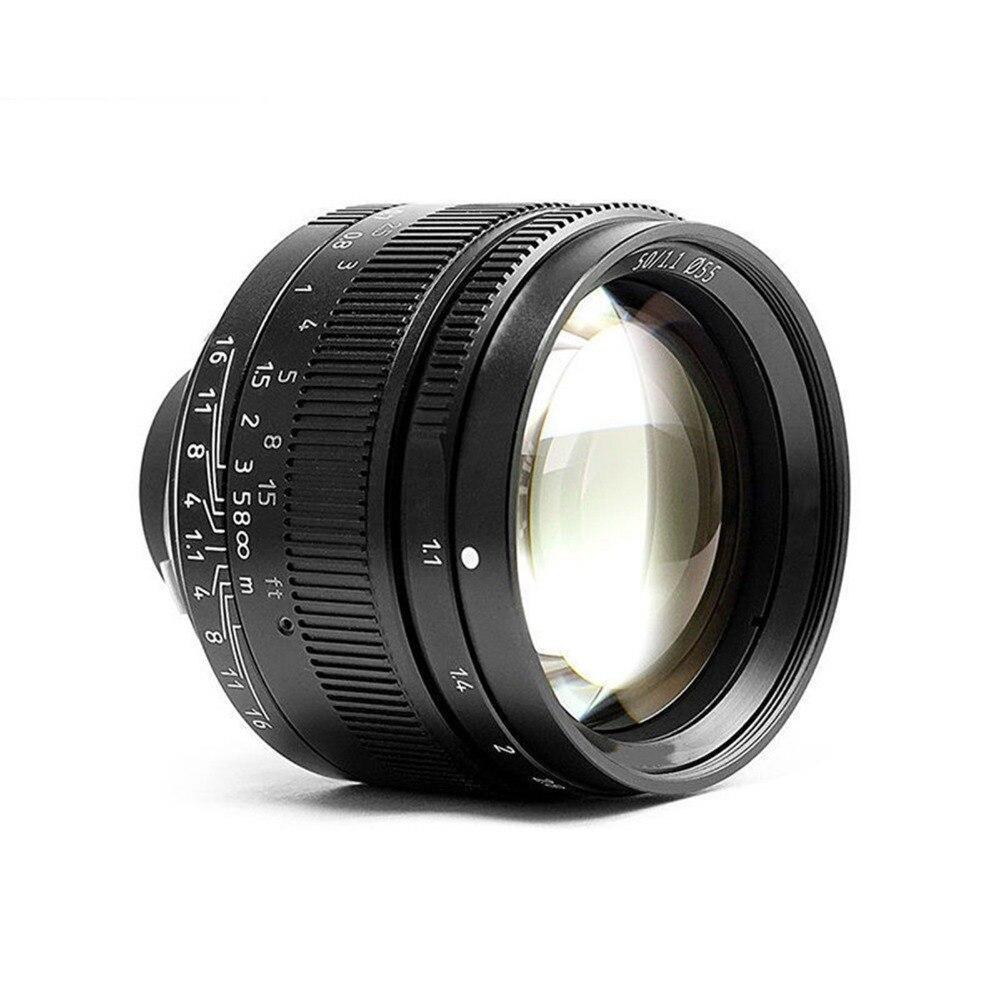 50mm f1.1 m montagem lente fixa para leica m montagem câmeras M M m240 m3 m6 m7 m8 m9 m10