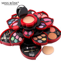 Professional 46 Full Color Make Up Kit Blush Eyeliner Lipstick Collection MakeUp Palette Eyeshadow 3D Collection