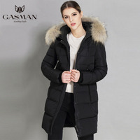 2018 New Women Winter Down Jackets And Coat Large size Hooded Warm Parka for Women With Natural Fur Collar Plus Size 5XL 6XL