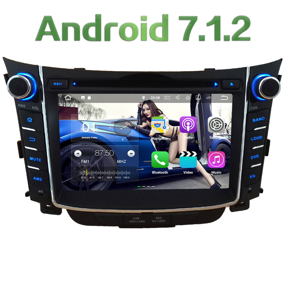 7 2GB RAM Quad Core Android 7 1 2 4G WiFi SWC BT Multi Car DVD