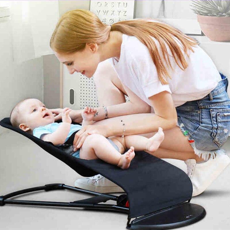 Berceau bébé housse en tissu lavable berceau nouveau-né Non électrique balançoire naturelle berceau d'été Cool