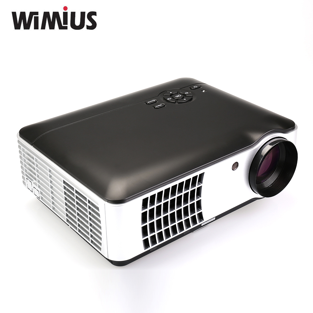 Led Projector 3500 Lumens Beamer 1280 800 Lcd Projector Tv: Wimius 2800 Lumens Videoprojecteur LED Full HD Home Cinema