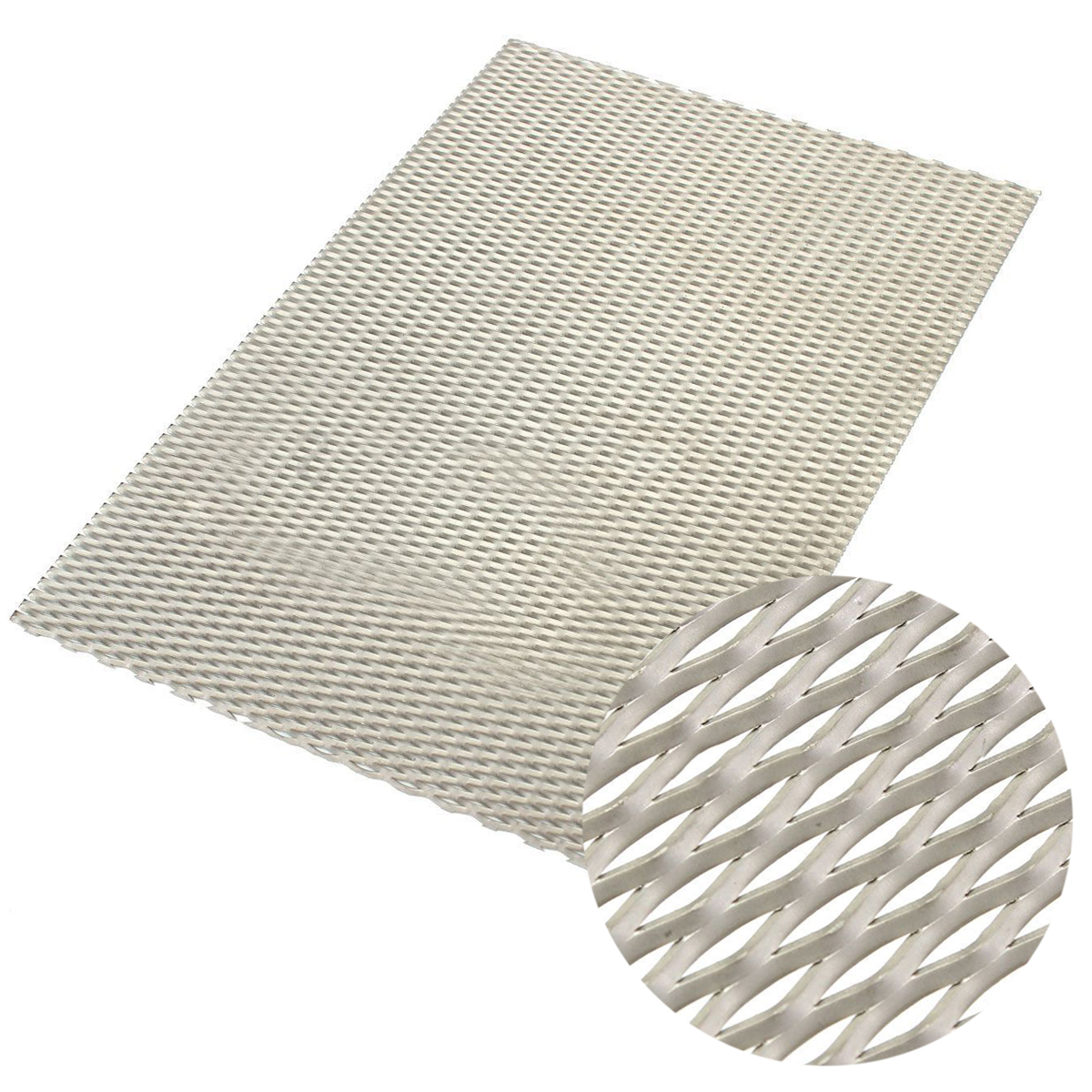 1pc Practical Titanium Mesh Sheet Perforated Plate Expanded Mesh with Corrosion Resistance 200mmx300mmx0.5mm 1pc recycled metal titanium mesh sheet with corrosion resistance 50mmx165mm electrode for electrolysis