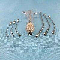 Crop Feeding Kit 6Pc Curved Gavage Tubes 1Pc Syringe