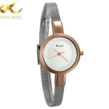 Lancardo New Style Ladies Wrist Watch Luxury Simple  Girls Casual Dress Watches Small Hours Clock Gift Simple Watches For Women women s watches clock simple retro small girls dial female table belt casual leisurely wave best wrist watch high quality