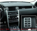 ABS Chrome Car Interior Accessories Control Console Button Panel Trim For Land Rover Discovery Sport 2015 Car Styling