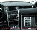ABS Del Coche Del Cromo Interior Accesorios Botón de la Consola de Control Panel de Moldura Para Discovery Land Rover Sport 2015 Car Styling