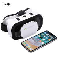 UZQi Virtual Reality Glasses SHINECON G05A 3D VR Glasses Headset for 4.7 6.0 Inches Android iOS Smart Phones Universal