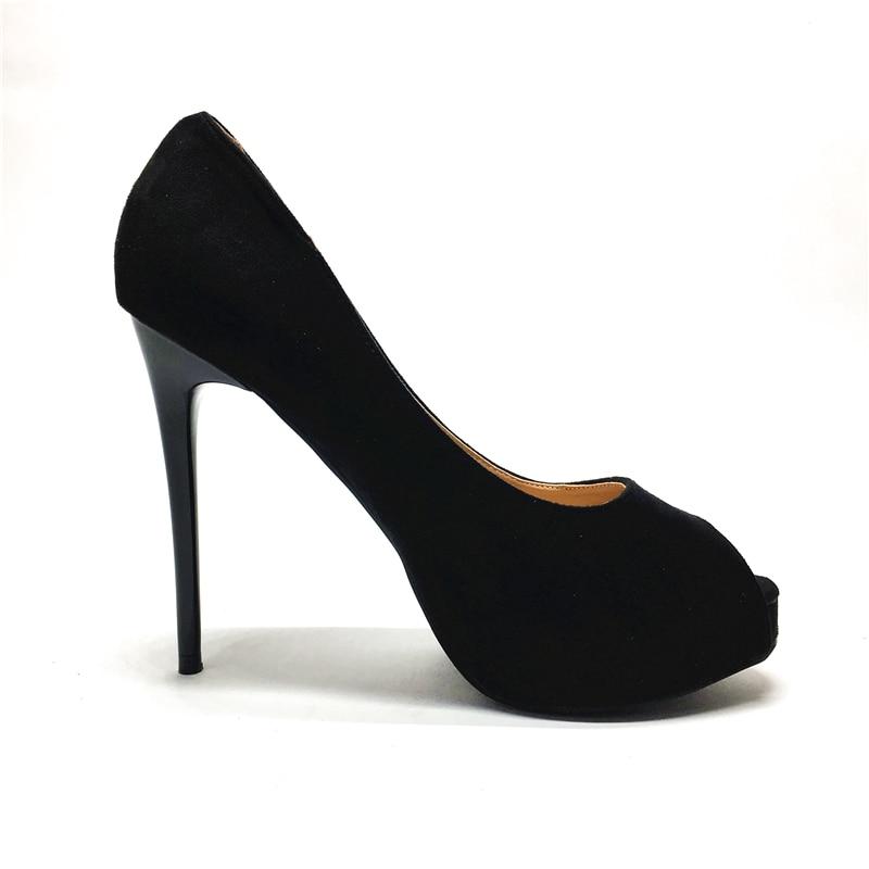 Brand Shoes Woman High Heels peep toe platform Women Pumps 2