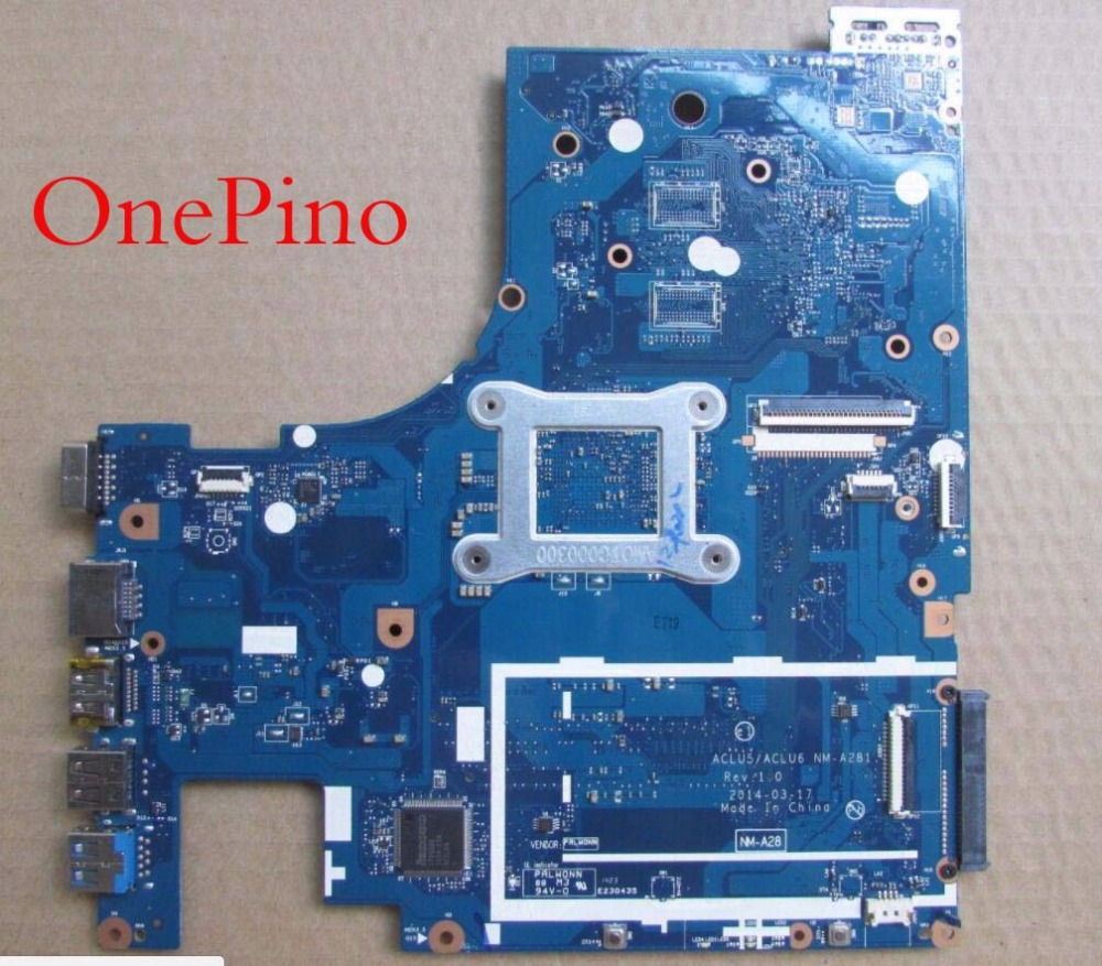 цена на NM-A281 For Lenovo G50-45 motherboard NM-A281 Laptop Motherboard E1 CPU built-on  working