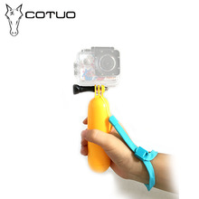 COTUO Action Camera Accessories Bobber Floating Handheld Monopod For Gopro HERO 5 4 3 3 2 1 / SJCAM 4000 / xiaomi Yi Sports