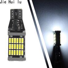 1Pcs T15 W16W 921 Super Bright High Power 45 SMD 4014 LED Canbus No ERROR Car Backup Reserve Lights Bulb Brake Lamp Xenon White