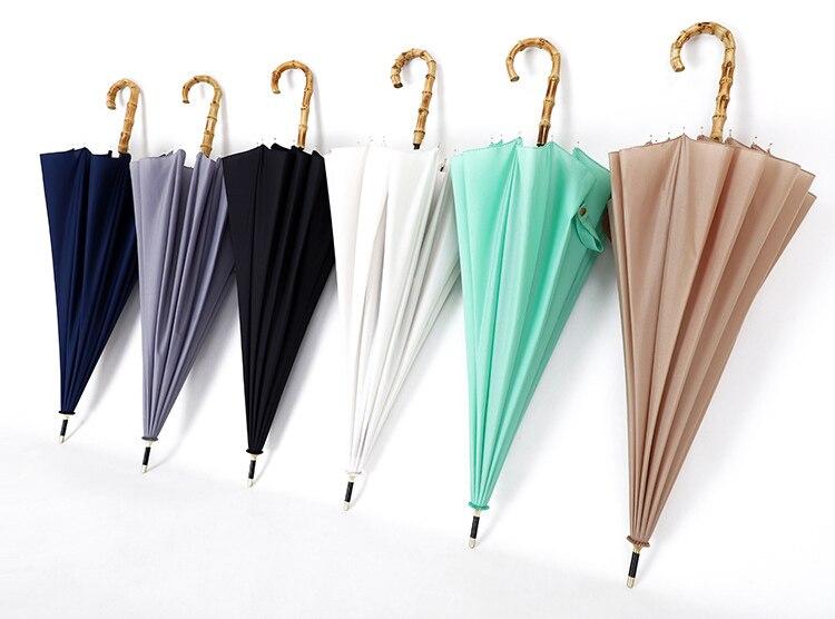 japonês longo automático golfe guarda-chuva chuva para