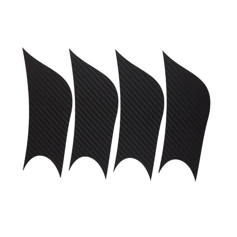 Savanini Car-Styling 1set 16 Inches Carbon Fiber Wing Wheels Mask Decal Sticker Trim For Hyundai IX35 A Style