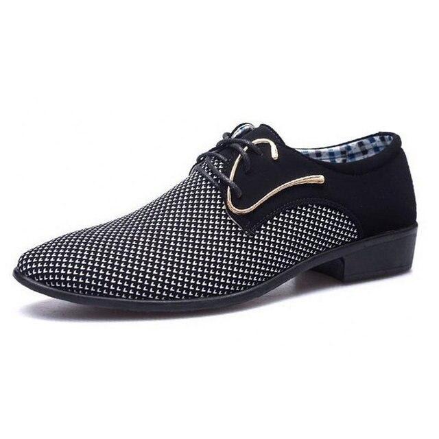 מדד המחירים לצרכן 2018 מעצב חדש אביב טלאי נעלי השמלה של אנשי עסקים hairstylis גברים נוחים נעלי נעלי שמלת כלה ZY-01 2