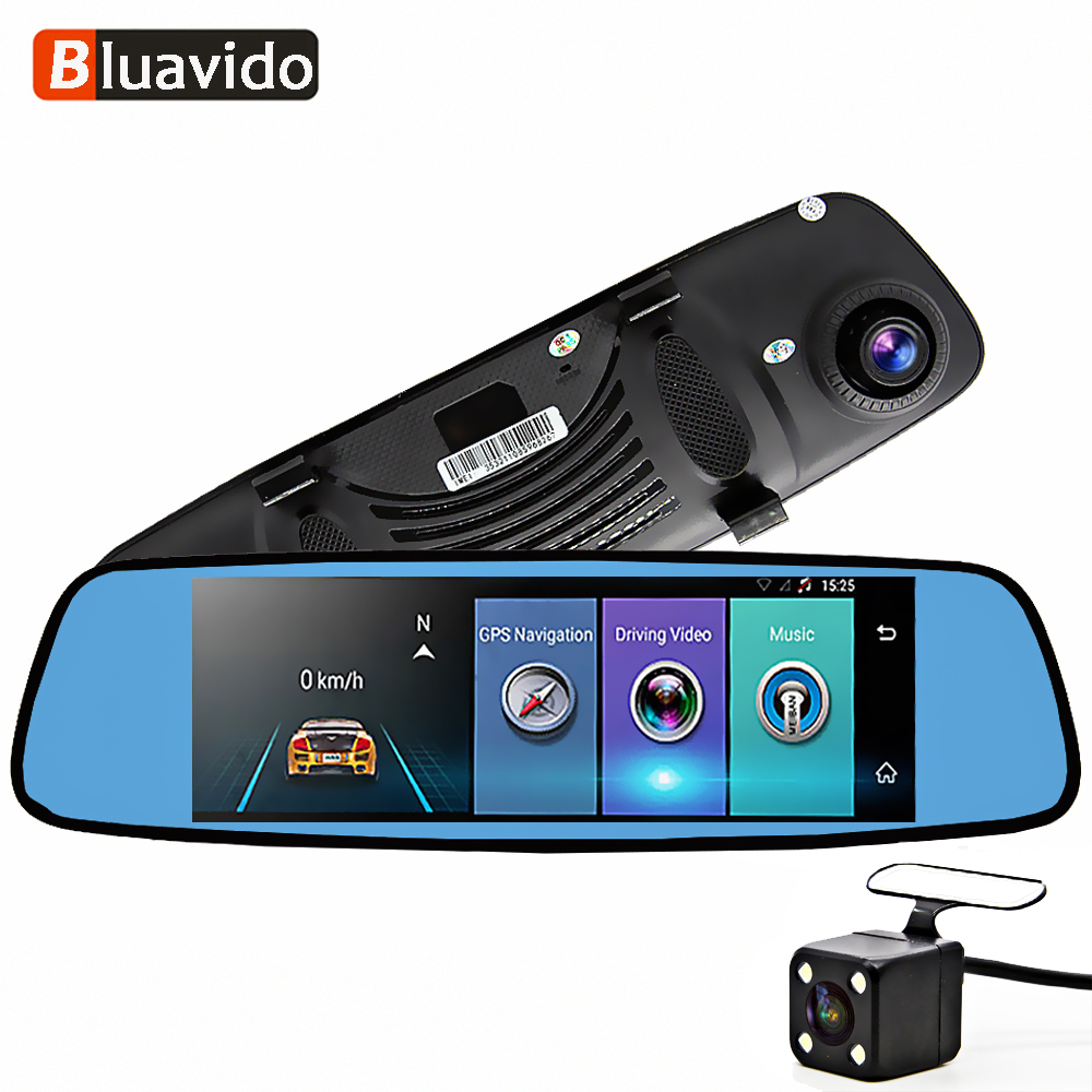 Automobiles & Motorcycles Car Electronics Whexune E06 4g Car Dvr 7.84 Touch Adas Remote Monitor Rear View Mirror Android 5.1 Dual Lens Hd 1080p Wifi Night Vision Dashcam
