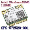 New Original Wireless card  Intel Centrino Wireless-N 1000 112BNHMW 300Mbps 802.11b/g/n Mini PCI-E SPS: 593530-001 intel N1000