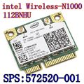 Novo sem fio Intel Centrino Wireless - N 1000 112 BNHMW 300 Mbps 802.11b / g / N Mini PCI-E SPS : 593530 - 001 Intel N1000