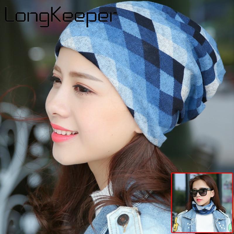 Knitted Hats Beanie Bonnet Sport Women Winter Chapeu-Cap Skiing Outdoor for Longkeeper