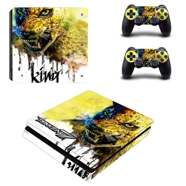 US $8 54 5% OFF|TEKKEN 7 PS4 Slim Sticker For Sony Playstation 4 Slim  Console+Two Controller Skin Sticker For PS4 S Skin-in Stickers from  Consumer