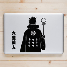 Ootutuki Hagoromo Naruto Laptop Decal for Apple Macbook Sticker Pro Air Retina 11 12 13 15 inch Acer Mac Book Anime Vinyl Skin