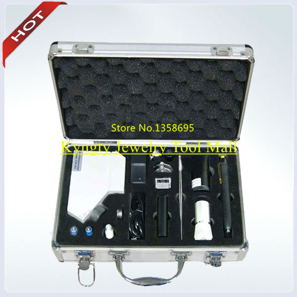 herramientas joyeria Gem Travel Lab with 8 kinds of Regular Test Instruments Gemstone Tools and Detector Easy To Carry and Jewel