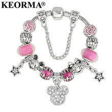 Mickey Mouse Charm Bracelets & Bangle