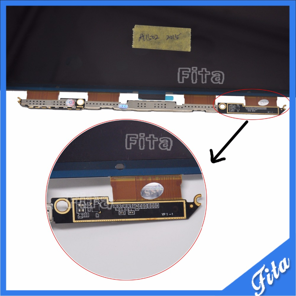 3PCS/LOT New For MacBook Pro Retina 13 A1502 2015 LCD LED DISPLAY Screen LP133WQ2-SJA1 LSN133DL02-A02 2013 2014 3pcs lot new for macbook pro retina 13 a1502 2015 lcd led display screen lp133wq2 sja1 lsn133dl02 a02 2013 2014