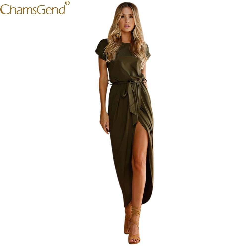 women dress summer 2019 formal dress women elegant O-Neck( Fashion Casual Sleeveless sashes Retro Solid dress elegant Jun26