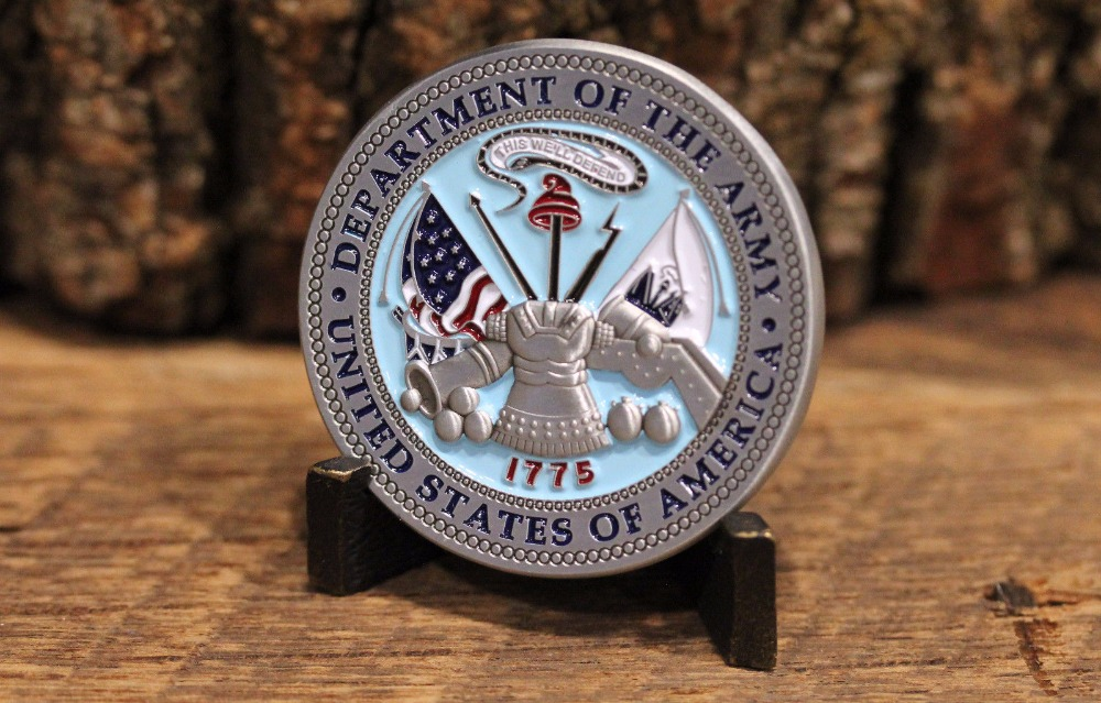 US Army Ranger Challenge Coin - Rangers Lead The Way (2)
