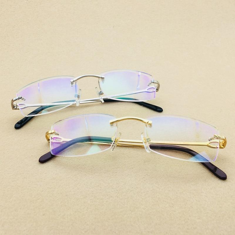 2018 Vintage Carter lunettes cadre hommes de luxe hommes clair verre femmes marque Designer cadre lunettes lunettes remplir Prescription