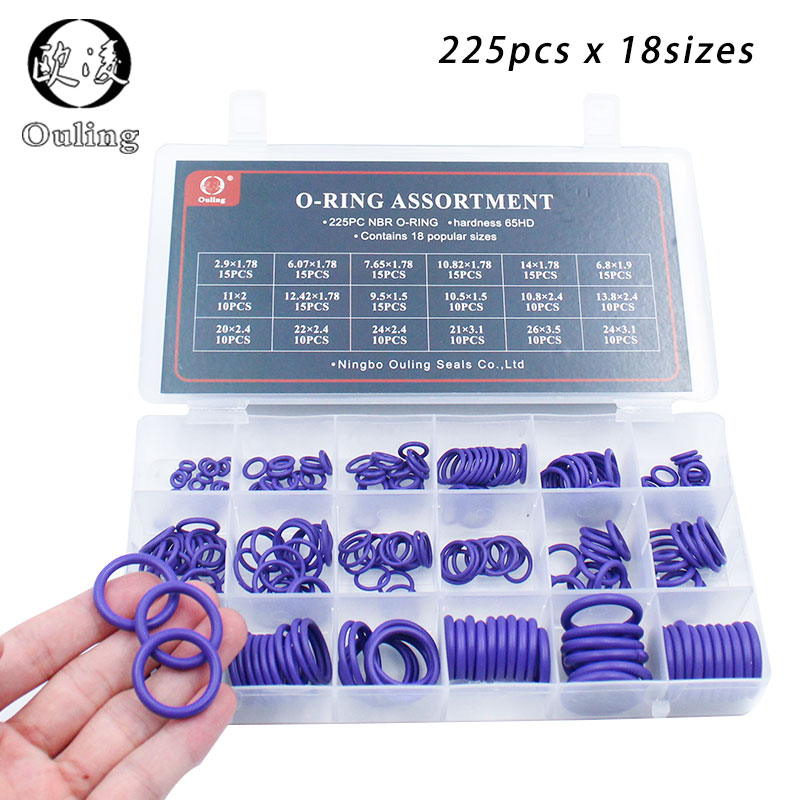 144pc Box of Fibre Rubber /& Flat Washer Seals Plumbers Tap Sink Valve Washers
