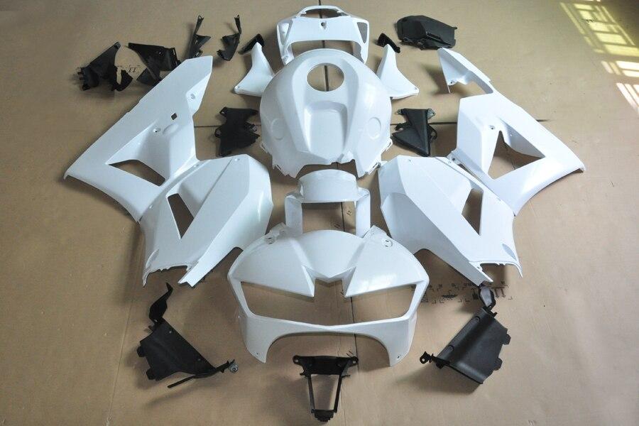 Wotefusi ABS moulage par Injection carénage de carrosserie non peint pour Honda CBR 600 RR F5 2013 13 [CK1077]