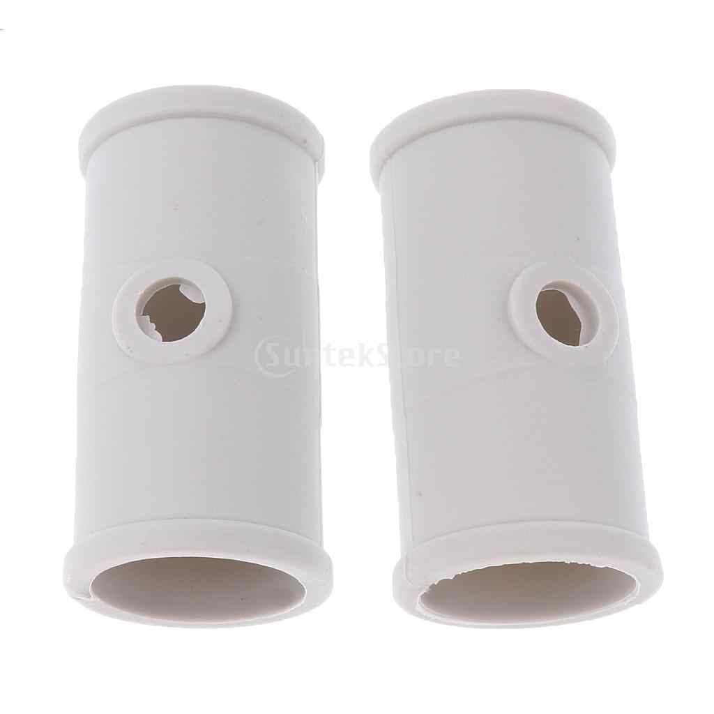 2pcs 30mm Inner Diameter Kayaks Inflatable Boats Paddle Connectors