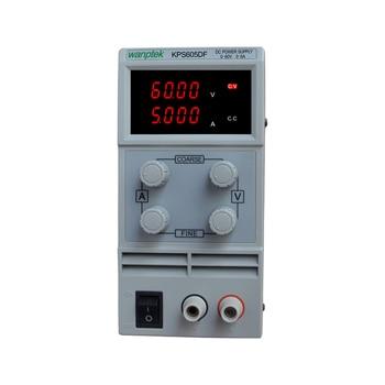KPS605DF 0-60V/0-5A 110V-230V 0.1V/0.001A EU LED Digital Adjustable Switch DC Power Supply mA Display
