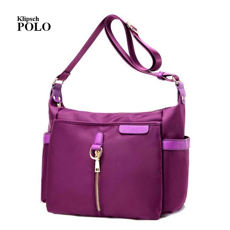 Women's Messenger Bags Ladies Nylon Handbag Travel Casual Original Bag Shoulder Female High Quality Large Capacity Crossbody Bag фен remington d6090 2200вт черный и фиолетовый