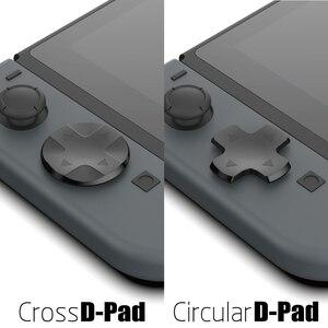 Image 5 - Kit de botões 10 em 1 para nintendo switch, botão analógico de controle de videogame e capa d pad para nintendos switch acessórios ns joycon