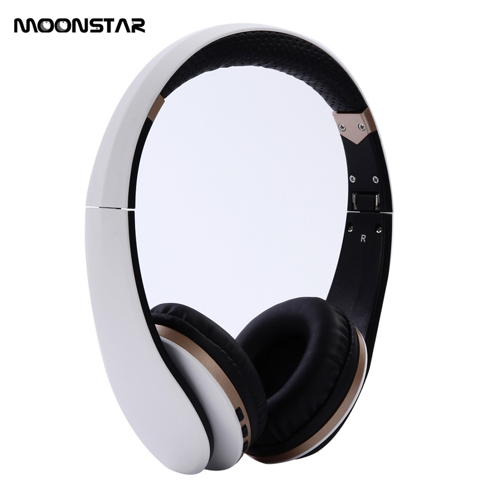 Original MOONSTAR Wireless Bluetooth headphones wireless headset with HD Microphone For Mobile phone music earphone m163 mini wireless bluetooth headset headphones with microphone car handsfree single ear earphone for ipone xiaomi mobile phone
