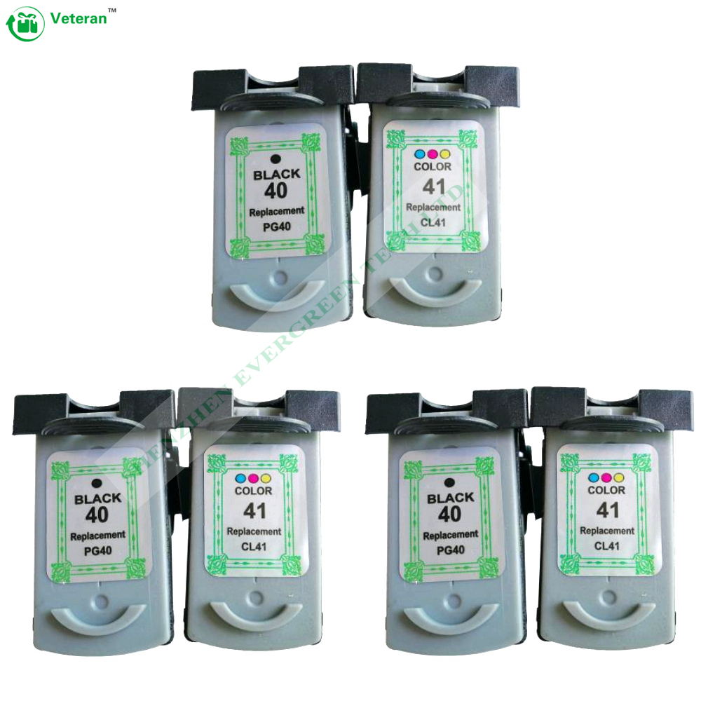 3set remanufactured ink cartridge For Canon PG40 CL41, compatible for PG-40 CL-41 FOR Canon iP1600 / IP1700 / IP1800 wholesale 3x remanufactured ink cartridge pg40 cl41 pg 40 cl 41 for canon pixma ip1700 ip1800 ip1900 mp470 mp450 inkjet printer